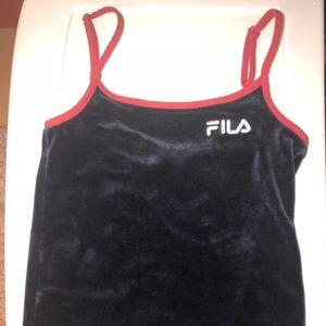 FILA Velour tank top